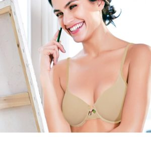 ENAMOR FEMALE BRA PADDED WIRED SOLID T-SHIRT BRA