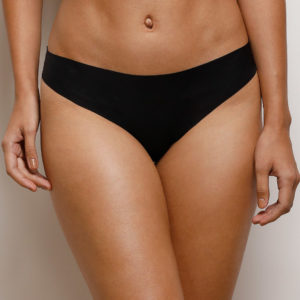 ZIVAME NO PANTY LINE LASER CUT LEDIES BIKINI BRIEF- BLACK