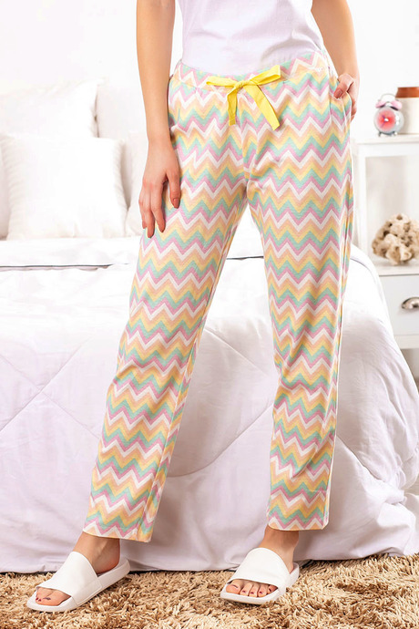 ZIVAME HAPPY-GO-SLEEPY PYJAMA MULTICOLOR