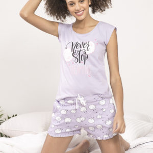 ZIVAME CRAZY SHEEP SLEEP SHORTS