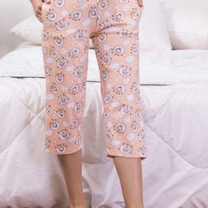 ZIVAME CRAZY SHEEP COTTON CAPRI