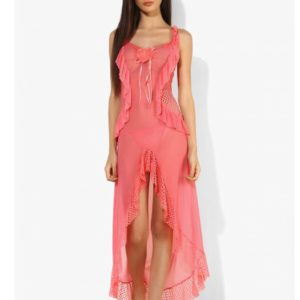 MESH WITH NET AND FRILLS ATTACHED BABYDOLL